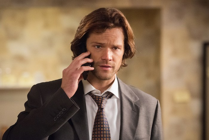 "Supernatural --""Regarding Dean""-- SN1211b_0032.jpg -- Pictured: Jared Padalecki as Sam -- Photo: Dean Buscher/The CW -- © 2017 The CW Network, LLC. All Rights Reserved"
