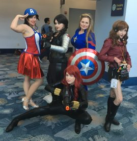 feat. @nika_thecosflyer and @ladyliberty_cosplay