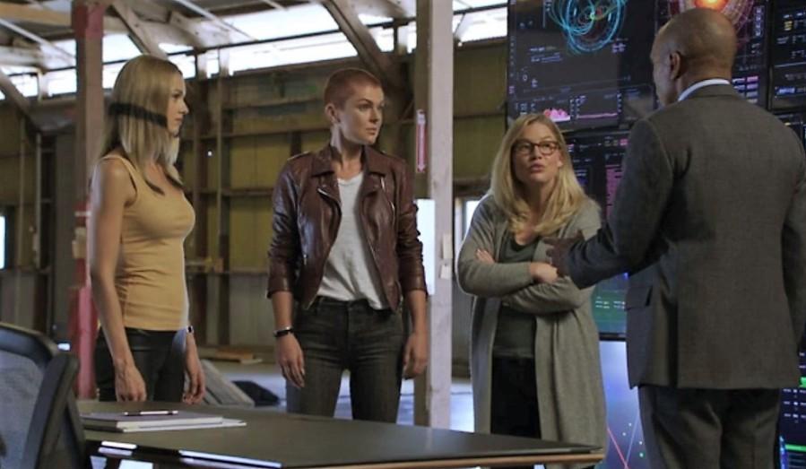 Crystal, Medusa, and Louise