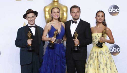 2016 Oscar Winners