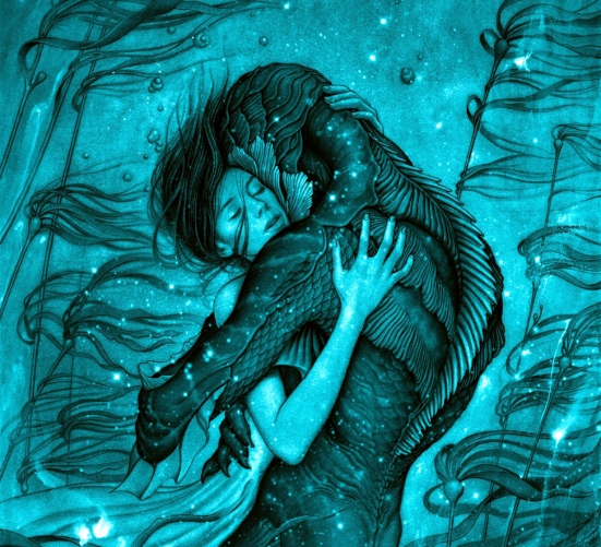 The Shape of Water Drawing