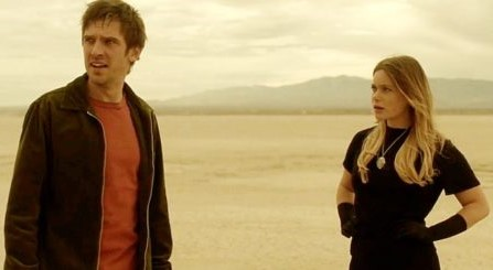 David and Syd lost in the desert