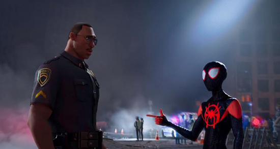 Into the Spider-Verse Father and Son