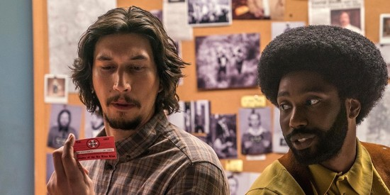 Blackkklansman Flip and Ron