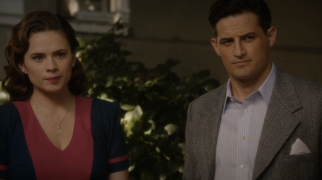 Peggy Carter and Daniel Sousa